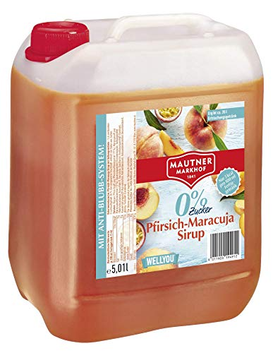 Mautner Markhof Pfirsich-Maracuja 0% Zucker Sirup 5l