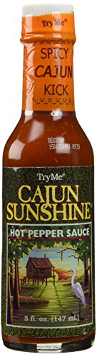 TRY ME SAUCE CAJUN HOT PPPR, 5 OZ (Pack of 6)