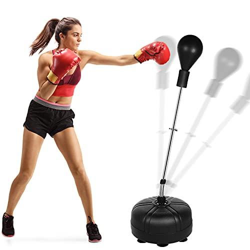 Brace Master - Bolsa De Boxeo Con Soporte Para Boxeo (Negro)