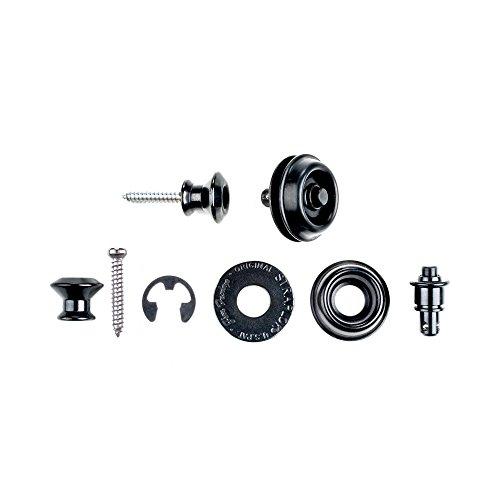 Dunlop SLS1033BK Straplok Dual Design Strap Retainer System, Black