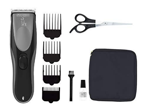 Performer by Wahl Dog Clippers, Cordless Dog Grooming Kit, Low Noise Dog...