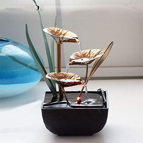 Mimioore fonteinfontein van Feng Shui voor het lekken van het water van de Rotella Miniature Decoration artikel Fatti Home Office
