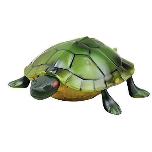 DingLong Kreativer Roboter zur Fernbedienung Lebensechte hohe Simulation Tier Schildkröte Infrarot-Fernbedienung Kinder Spielzeug Geschenk (A)