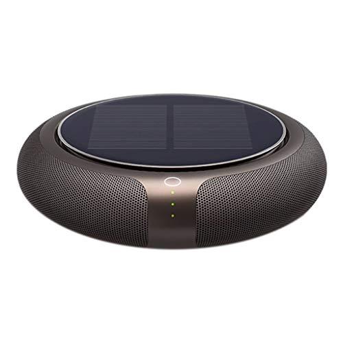 Serria® Solar Autoluftreiniger 1200 mAh Luftreiniger Auto Lufterfrischer Negative Ionen Geruchsbekämpfung Solarbetrieben for Auto, Kleiderschrank, Bad, Büro, Wohnzimmer, Yoga, SPA