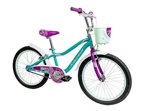 Schwinn Girls' Elm Bicycle, Teal, 20-inch Wheels