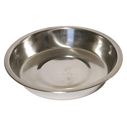 Rozenhout RVS Bowl Ondiepe Puppy Pan