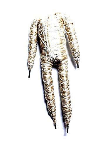 Recibe 1 cuerpo de cáñamo con núcleo de metal plegable para crear pastores de 50 cm de altura o para muñecas, etc. Para Belén San Gregorio Armeno Artesanal Shepherds crib ya de regalo llavero amuleto