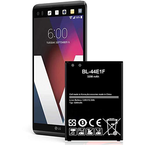 LG V20 Battery 3200 mAh Li-Ion Battery for LG V20 BL-44E1F US996, AT&T H910, T-Mobile H918, Verizon VS995, Sprint LS997 Spare Battery