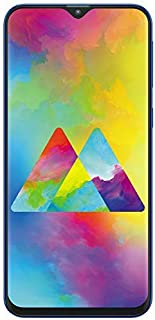 Samsung Galaxy M20 Dual SIM 32GB 3GB RAM 4G LTE (UAE Version) - Ocean Blue - 1 year local brand warranty