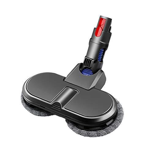 Yolando Repuesto de Cabezal de Fregona Eléctrica para Dyson V10 V11 V8 V7 Aspiradora, Cepillo Eléctrico para Fregona con Paño de Limpieza Accesorios de Recambios para Suelos Duros (Mop Head)