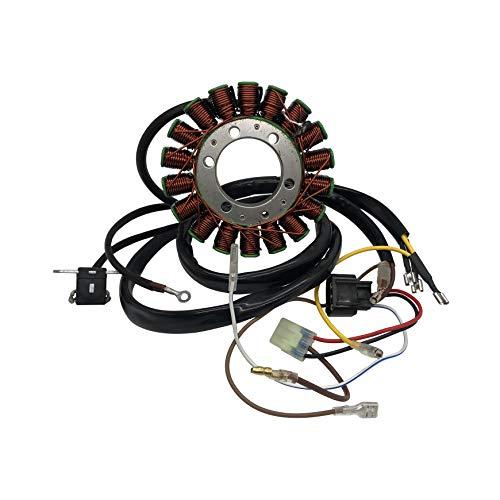 SHUmandala 3089249 3089546 3089965 Magneto Stator Compatible with Polaris Sportsman 400 450 500/Scrambler 500 2X4 4X4 Int'l/Ranger 400 Carb/ATP 500/Hawkeye 400 HO