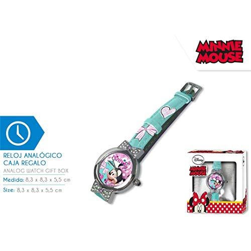 Minnie Mouse wrist watch in gift box