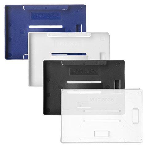 Karteo® Kartenhalter   für bis 5 Karten   Präsentationsfläche offen   transparent   für Ausweise Dienstausweise Karten
