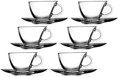 Flirt by R&B 12tlg. Set Espressotassen mit Unterteller Penguen/Assam