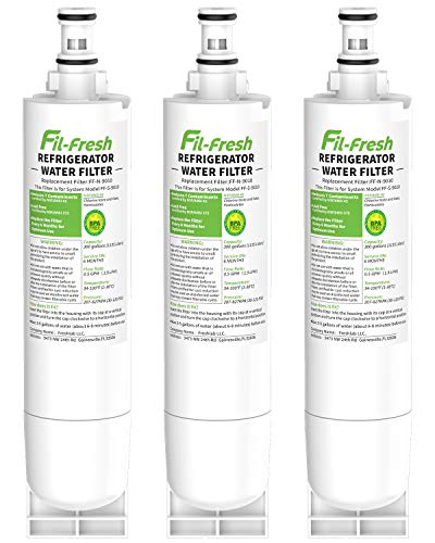 Fil-fresh Refrigerator Water Filter 5 Replacement for Whirlpool EveryDrop Filter 5, EDR5RXD1, Kenmore 4396508, NSF Certified, Packs of 3
