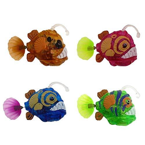 lossomly Juguetes para la bañera, juguetes para bebés, juguetes de baño para bebés, 4 piezas, juguetes de agua para niños pequeños