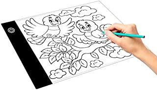Consumer Electronics 8W 5V LED USB Three Level of Brightness Dimmable A3 Acrylic Scale Copy Boards Anime Sketch Drawing Sketchpad with USB Cable /& Power Adapter