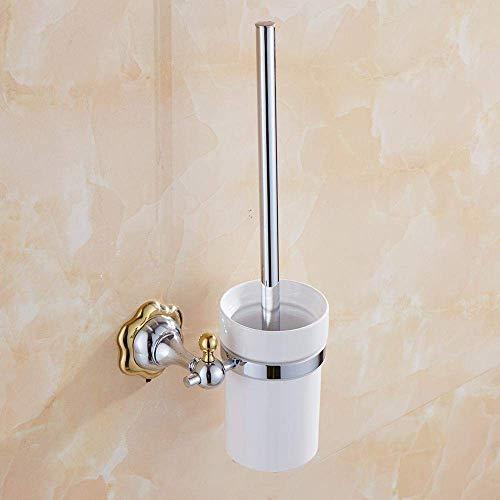 Lichtgewicht badkamer toiletborstels toiletborstelhouder zilverpoets keramische toiletborstel badkameraccessoires