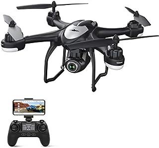 Potensic Drone GPS con Cámara 1080P HD FPV RC Quadcopter T18 con Cámara WiFi de Gran Angular Ajustable Sígueme Vuelve a Casa Automáticamente Mantiene la Altitud