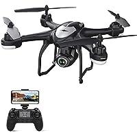 Potensic Drone GPS con Cámara 1080P HD, FPV RC Quadcopter T18 con Cámara WiFi de Gran Angular Ajustable, Sígueme, Vuelve a Casa Automáticamente, Mantiene la Altitud