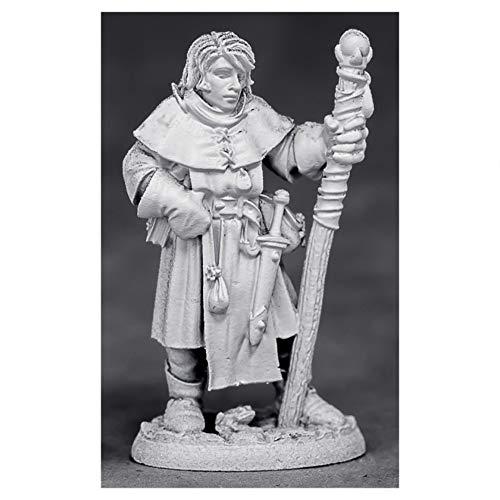 Reaper Miniatures Alec, Young Mage #03881 Unpainted Metal Mini D&D RPG Figure