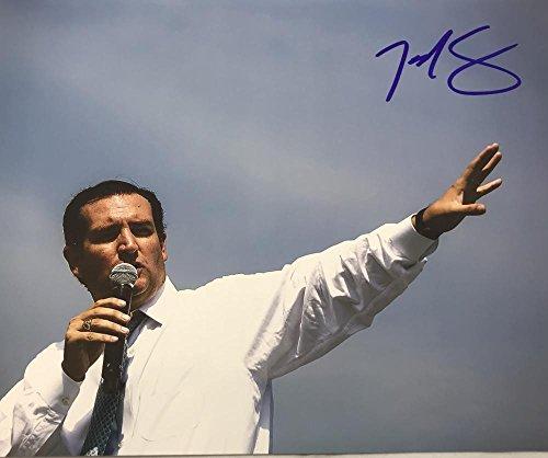 TED CRUZ SIGNED 8X10 PHOTO REPUBLICAN TEXAS SENATOR 2020 PRESIDENT? COA K5