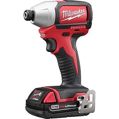 Milwaukee 2750-22CT M18 1/4  Hex Brushless Impact Driver Kit