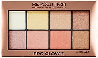 Makeup Revolution Pro Glow Palette, Multicolor, 20g