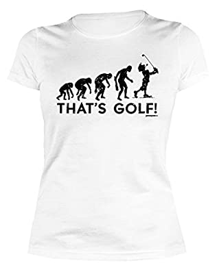 Damen T-Shirt Golf lustige