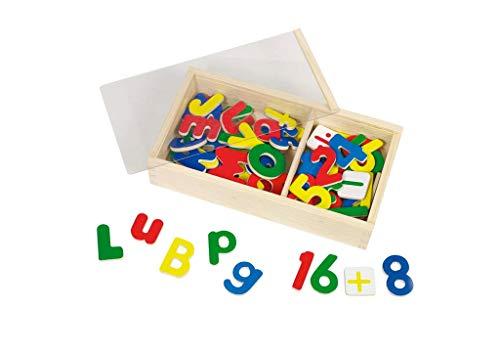 Gollnest & Kiesel GmbH & Co.KG magneet alfabet en cijfers set
