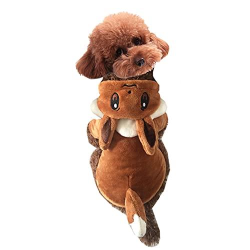 MDKAZ vêtements pour Animaux de Compagnie Hiver Chaud drôle Chien Costume Jouer Pokemon Chien Chat fête Habiller des vêtements pour Chien Cadeau pour Animaux de Compagnie-XL