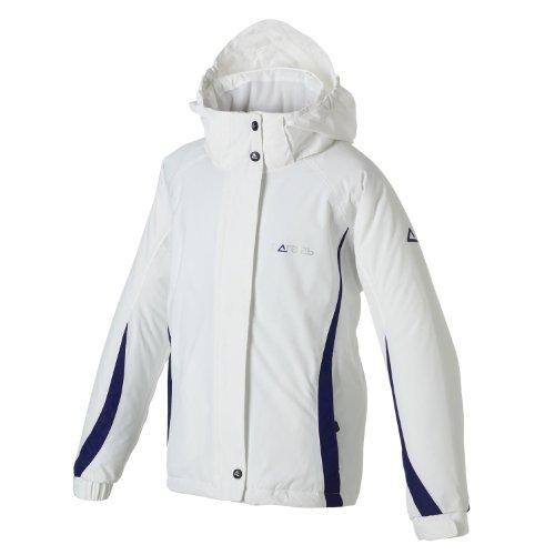 Dare 2B Spindle dziewczęca kurtka narciarska, dziewczęca, biała/rum, 3-4