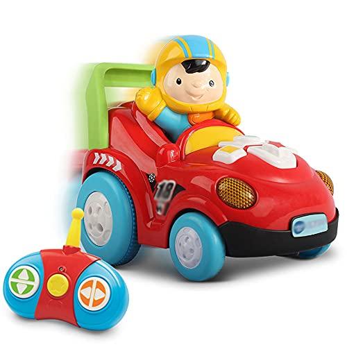 QHYZRV 360 ° Giratorio Stunt Car Car Efecto De Sonido Sonido Y Luz Drift Car Wireless RC Coche Eléctrico Control Inteligente Coche De Juguete para Niños Juego Regalos para Niños
