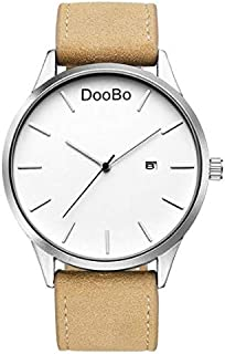 DOOBO Casual Watch For Men Analog Leather - 004