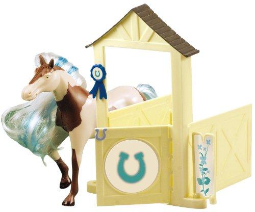 Lansay - 12057 - Figurine - Horseland Cheval et Box - Lucky
