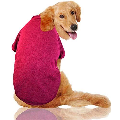GOUSHENG-Costumes Mascotas Vestidos S-9Xl Ropa Para Perros De Invierno Para Perros Perros Grandes Algodón Cálido Sudaderas Con Capucha Para Perros Grandes Golden Retriever Pitbull Abrigo Chaqueta Masc