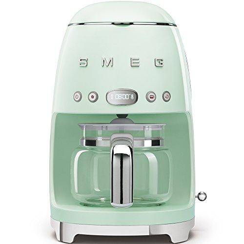 Smeg DCF01PGEU Filterkaffeemaschine, Pastellgrün