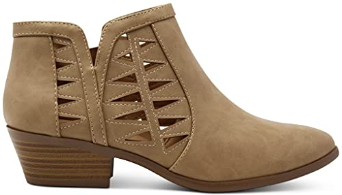 Oslo Womens Perforated Cut Out Side...