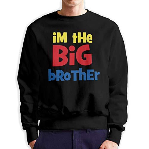 Sunwan Ik ben de grote broer mouw lange shirt Top Tops Casual Sweatshirt Blouse Tee Shirts Tees Classic Crewneckpatchwork korte tiener grote blouses