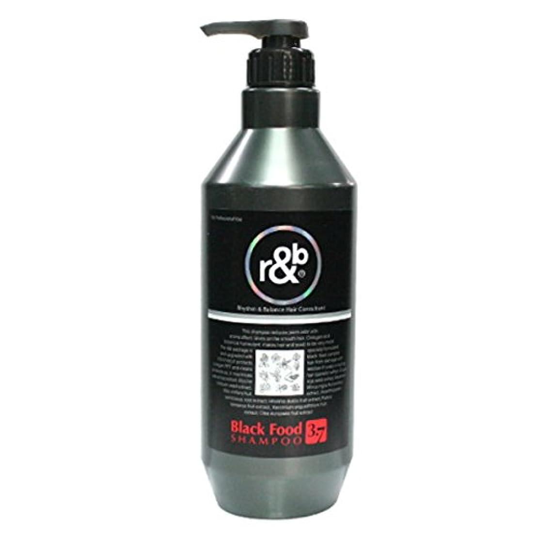 コンペドループクラウン[Woosin/ウシン] R&B Black Food 3.7 Shampoo 1500ml/ウシンR&Bブラックフード3.7シャンプー(海外直送品)