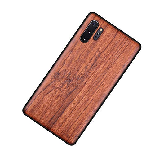 Homi2019 - Funda de madera para iPhone 11, carcasa de madera y TPU híbrido para teléfono móvil, funda protectora (palisandro)