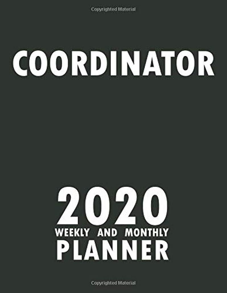 やむを得ないリットルエキスパートCoordinator 2020 Weekly and Monthly Planner: 2020 Planner Monthly Weekly inspirational quotes To do list to Jot Down Work Personal Office Stuffs Keep Tracking Things Motivations Notebook