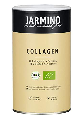 Bio Kollagen Pulver | Collagen vom Weiderind | Bio Alternative zu Kollagen Hydrolysat Peptide I, II und III | Ohne Zusatzstoffe | Rind Knochenbrühe Pulver | 30 Portionen