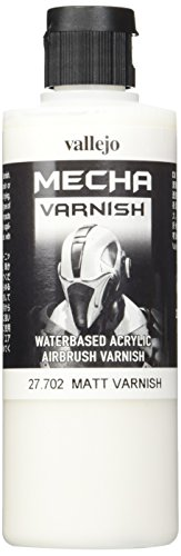 Vallejo VJ27702 Glasur - Mecha Varnish, matt, 200 ml