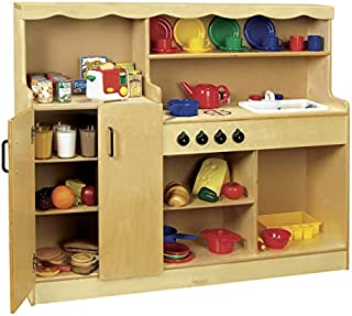 Childcraft 4-in-1 Kitchen, 47-3/4 x 13-3/4 x 40 Inches