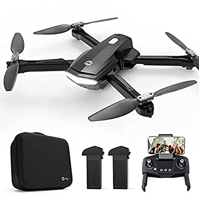 Holy Stone HS260 Drone for Kids Adults with 1080P FHD Camera Adjustable, Foldable RC Quadcopter for Beginners with 30 Mins Flight, Gravity Sensor, Voice Control, Trajectory Flight, Storage Case