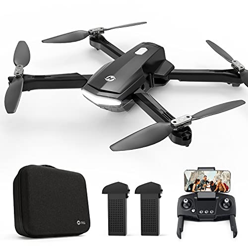 Holy Stone HS260 Drone for Kids Adults with 1080P HD Camera Adjustable, Foldable RC Quadcopter for Beginners with 30 Mins Flight, Gravity Sensor, Voice Control, Trajectory Flight, Storage Case