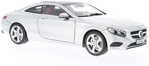 Mercedes S-Klasse Coupe, silber , 2014, Modellauto, Fertigmodell, Norev 1 18