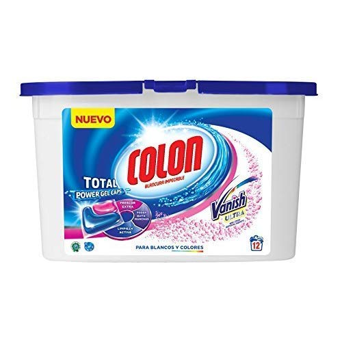 Colon Total Power Gel Caps Vanish - Detergente para Lavadora