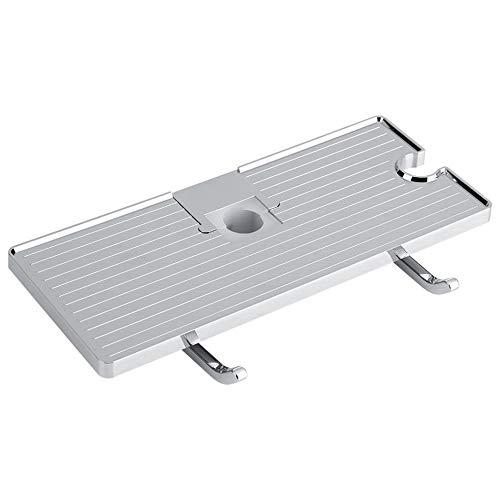 JEHO douchestang opslag plank organisator lade houder ABS badkamer plank douche opslag rack houder opslag badkamer opslag plank